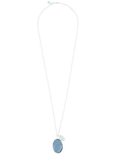 Naszyjnik z pereł srebrny Ippolita