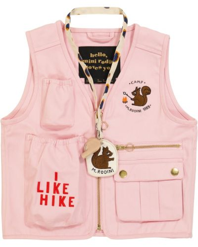 Жилетка - розовая Mini Rodini