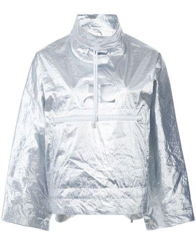 Длинная куртка дождевик Courrèges