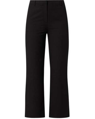 Spodnie w paski - czarne Modström