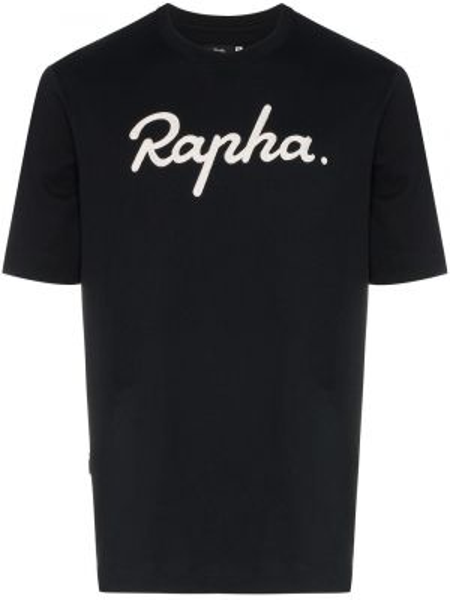 T-shirt bawełniana - czarna Rapha