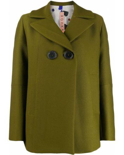 Прямой классический пиджак с подстежкой Rohka