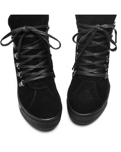 Черные ботинки Respect