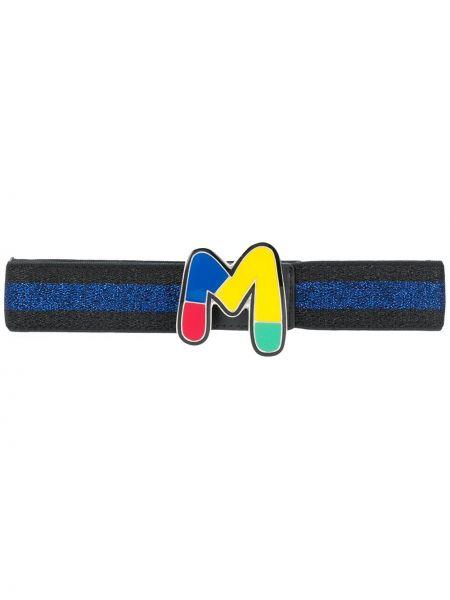 Черный ремень с пряжкой из вискозы с поясом M Missoni