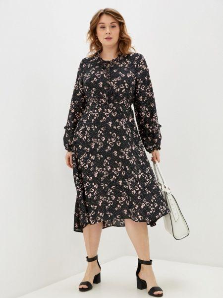 Черное платье Evans