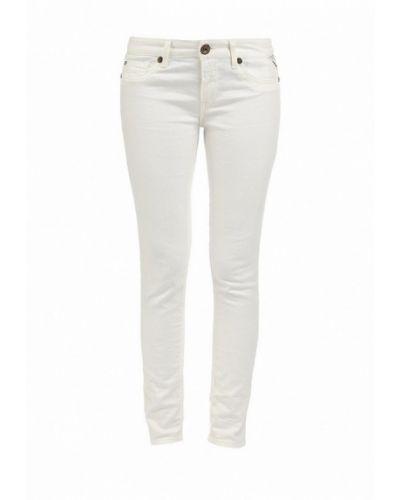 Белые джинсы-скинни Replay