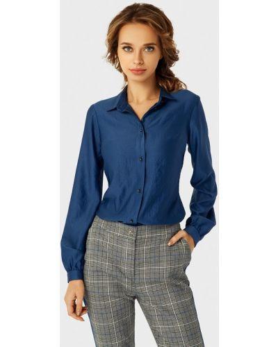 Рубашка с длинным рукавом синяя Anushka By Anna Pavlova