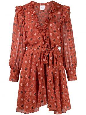 Платье макси длинное - оранжевое Misa Los Angeles