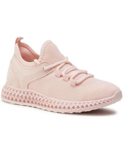 Różowe sneakersy Deezee