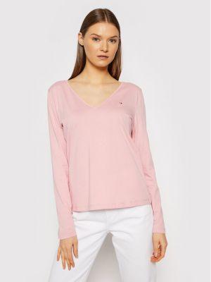 Klasyczna bluzka - różowa Tommy Hilfiger