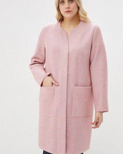 Пальто - розовое авантюра Plus Size Fashion