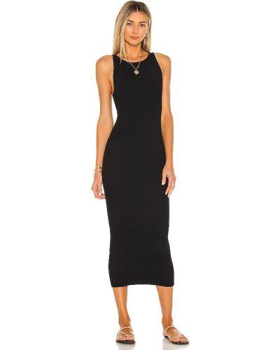 Czarna sukienka z nylonu Bond Eye