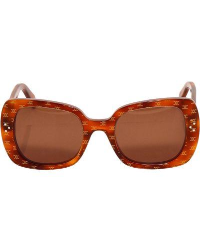 Beżowe okulary Céline