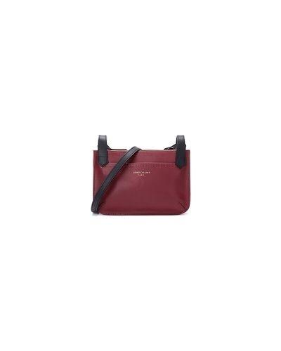 Czerwona torba na ramię Longchamp