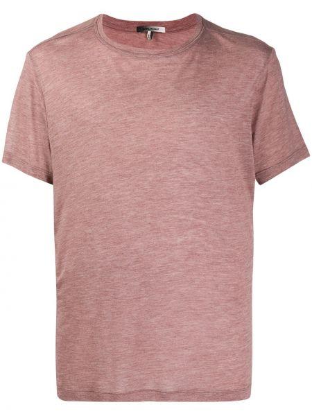 Koszula krótkie z krótkim rękawem kaszmir burgundia Isabel Marant