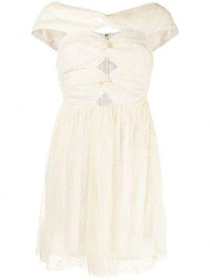 Открытое желтое платье с подкладкой Alice Mccall