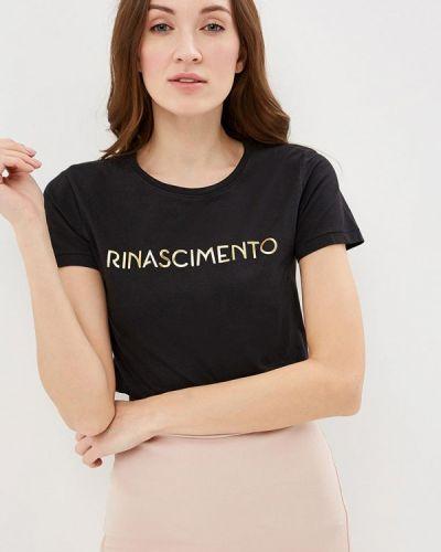 Футболка черная Rinascimento