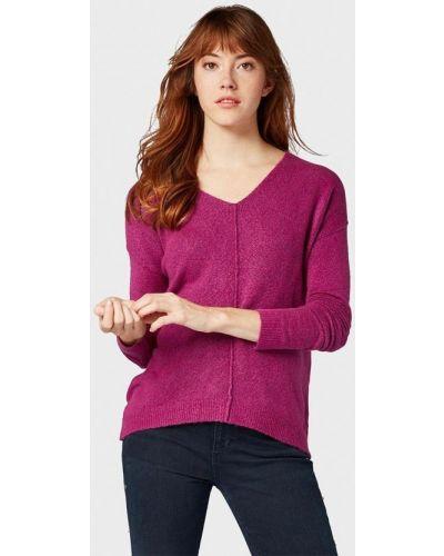Фиолетовый пуловер Tom Tailor