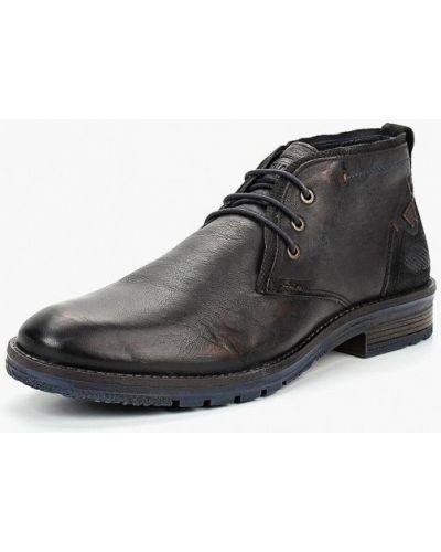 Ботинки осенние кожаные низкие Wrangler