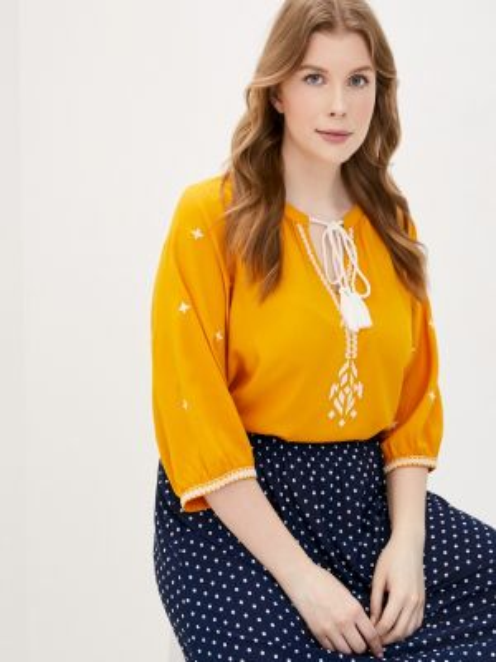 Блузка с коротким рукавом весенний Junarose