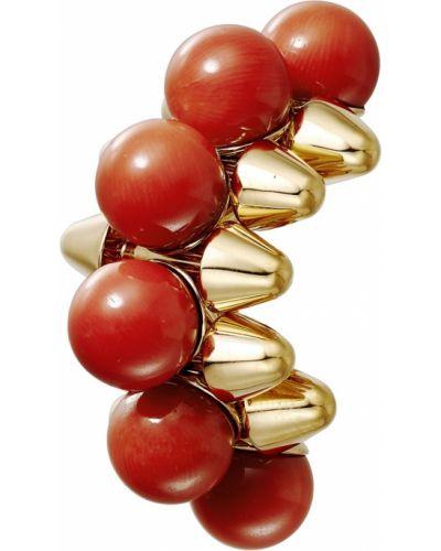 Золотые серьги золотые с шипами Cartier