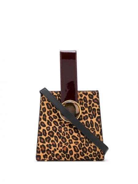 Коричневая сумка-тоут Lizzie Fortunato Jewels