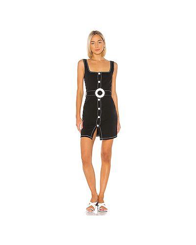 Платье мини в полоску на пуговицах Solid & Striped