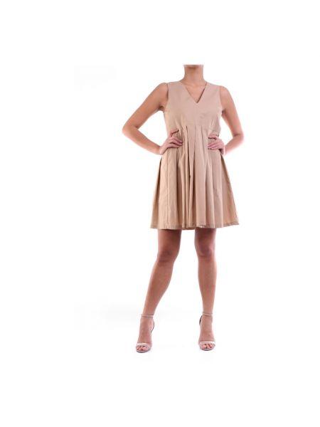 Beżowa sukienka mini Manila Grace