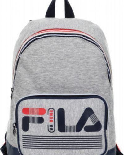 Рюкзак спортивный серый Fila