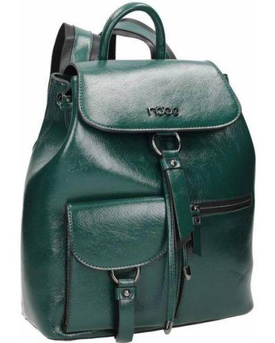 Zielony klasyczny plecak Nobo
