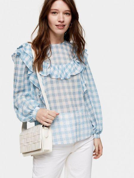 Блузка с оборками Topshop