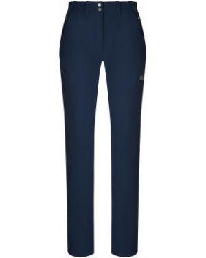 Облегченные облегающие синие брюки туристические Jack Wolfskin