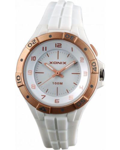 Biały klasyczny zegarek Xonix