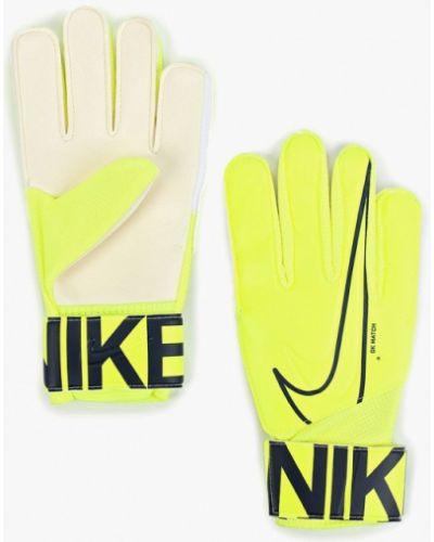 Перчатки желтый Nike