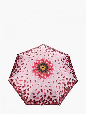 Складной зонт - розовый Fabretti
