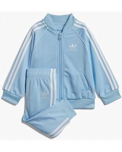 Спортивный костюм голубой Adidas Originals