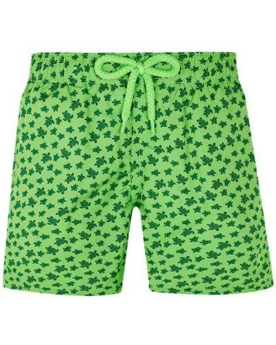 Zielone kąpielówki Vilebrequin