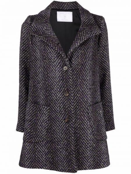 Пальто из альпаки - черное SociÉtÉ Anonyme