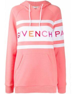 Bluza z kapturem z haftem długo Givenchy