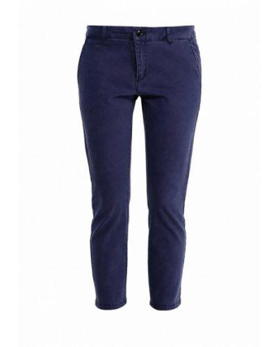 Синие зауженные брюки Silvian Heach
