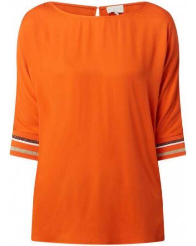 Bluzka z wiskozy - pomarańczowa Milano Italy