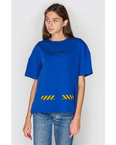 Синяя футбольная футболка Keepstyle