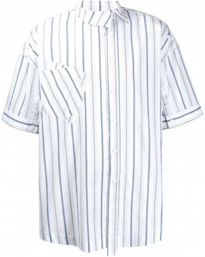 Biała koszula krótki rękaw - biała Ader Error