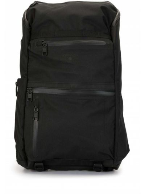 Водонепроницаемый черный рюкзак квадратный на бретелях As2ov