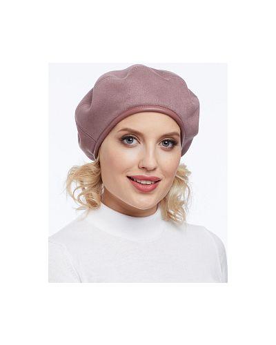 Текстильный берет - розовый каляев