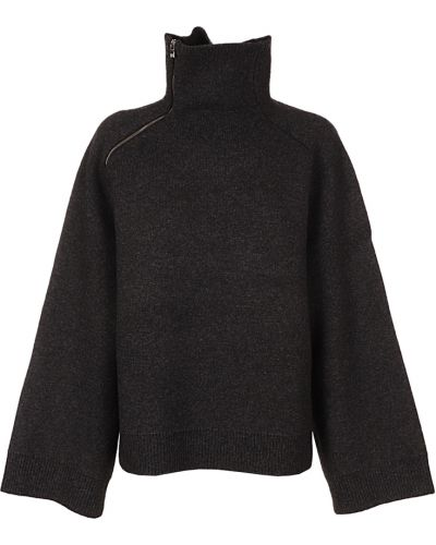 Czarny sweter Toteme