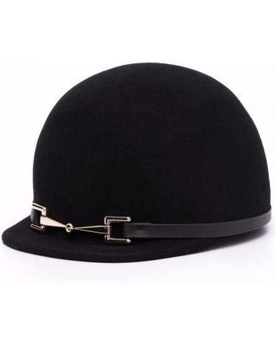 Черная кепка Elisabetta Franchi