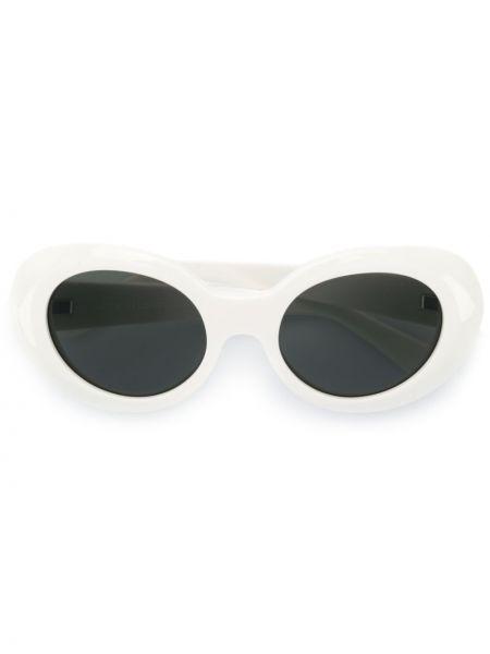 Солнцезащитные очки темный белый Acne Studios