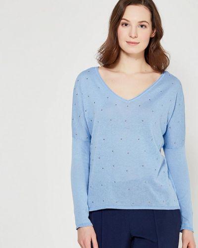 Голубой пуловер Zarina
