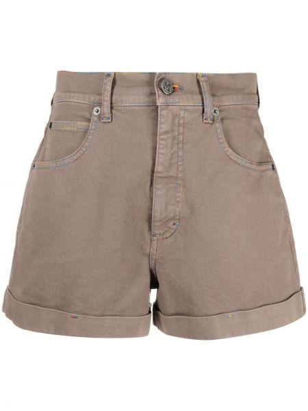 Хлопковые шорты с карманами с заплатками Missoni